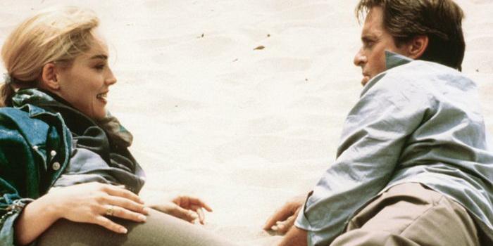 сцена из фильма Основной инстинкт (1992)