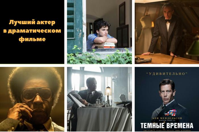 актеры драмы золотого глобуса 2018