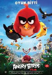афиша к мультику Angry Birds в кино (2016)