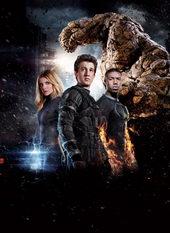 плакат к фильму Фантастическая четверка (2015)