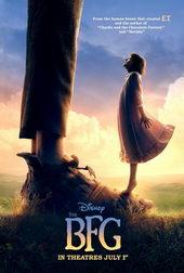 плакат к фильму Большой и добрый великан (2016)