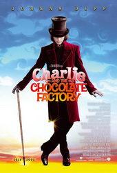 афиша к фильму Чарли и шоколадная фабрика (2005)