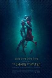плакат к фильму Форма Воды (2018)