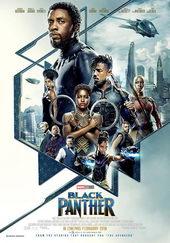 плакат к фильму Чёрная пантера (2018)
