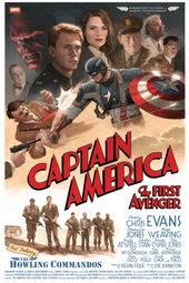 постер к фильму Первый мститель (2011)