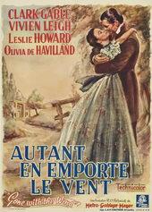 плакат к фильму Унесенные ветром (1939)