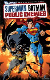 афиша к мультфильму Супермен. Бэтмен: Враги общества (2009)
