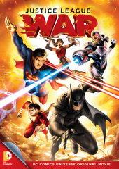афиша к мультику Лига справедливости: Война (2014)