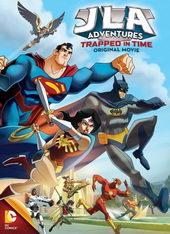 постер к мультфильму Лига справедливости: В ловушке времени (2014)