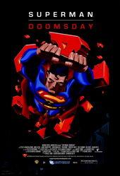 плакат к мультфильму Супермен: Судный день (2007)