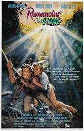 постер к фильму Роман с камнем (1984)