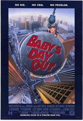 постер к фильму Младенец на прогулке, или ползком от гангстеров (1994)