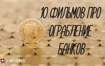 Лучшие фильмы про ограбления банков топ 10