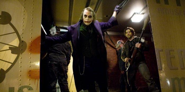 Джокер из фильма Темный рыцарь