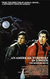 плакат к фильму Американский оборотень в Лондоне (1981)