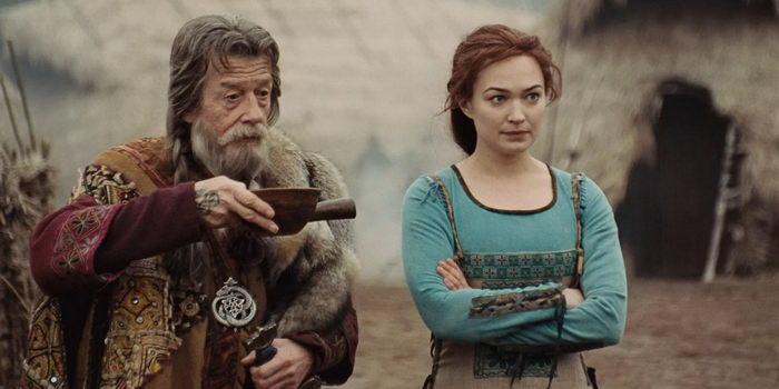 Кадр из фильма Викинги против пришельцев 2008 года