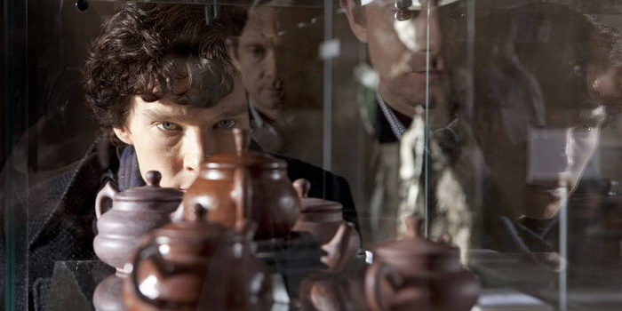 Сцена из сериала Шерлок (2010)