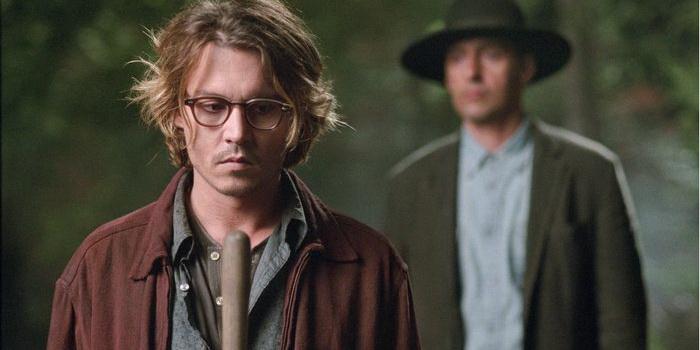 Сцена из фильма Тайное окно