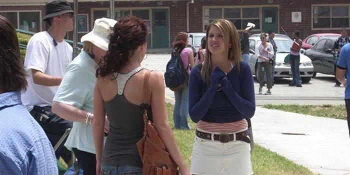 Сцена из фильма Юг нигде (2005)