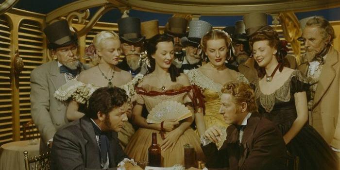 Сцена из старого фильма Тайная жизнь Уолтера Митти (1947)