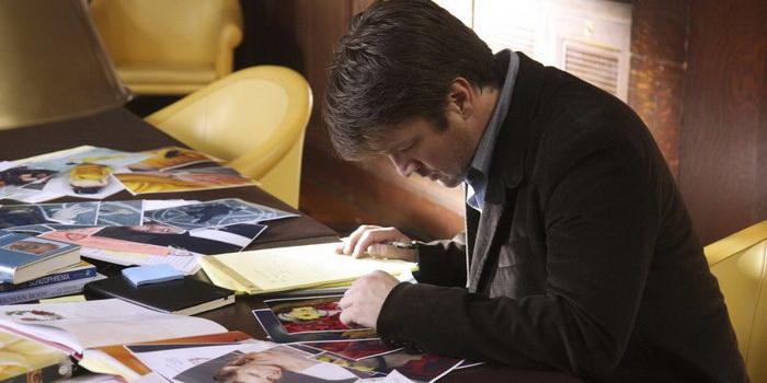Главный персонаж из сериала Касл (2009)