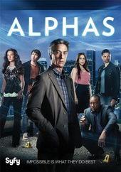 Плакат к сериалу Люди-Альфа (2011)