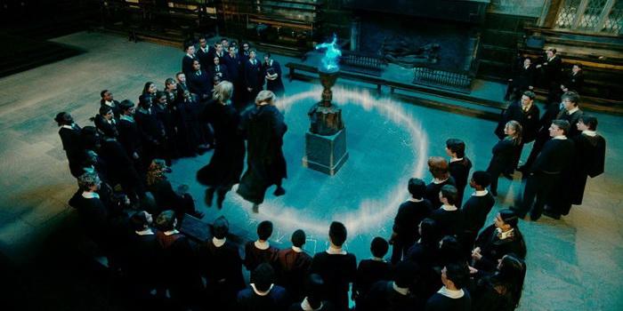 сцена из фильма Гарри Поттер и Кубок огня (2005)