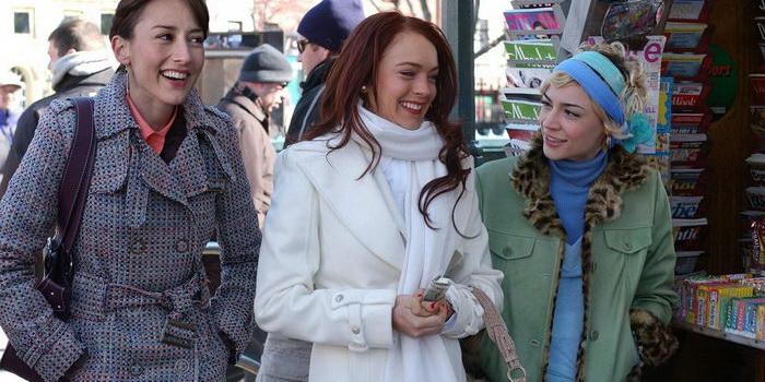 Героини из фильма Поцелуй на удачу (2006)