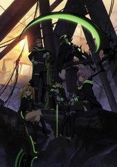 Плакат к аниме Последний Серафим (2015)