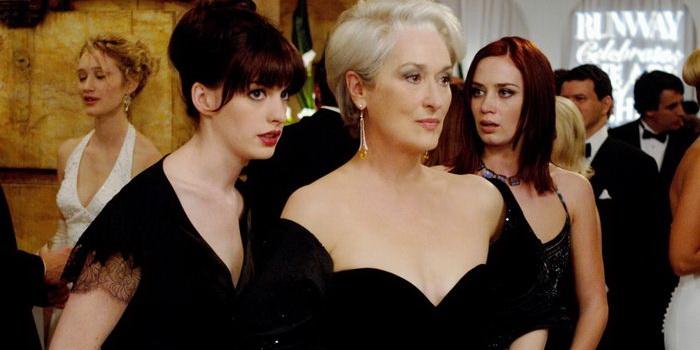 Кадр из фильма Дьявол носит Prada (2006)