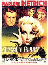Плакат из фильма Шанхайский экспресс (1932)