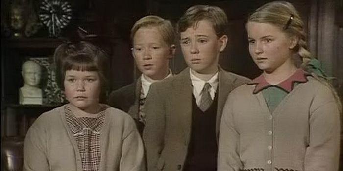 Кадр из фильма Хроники Нарнии: Лев, колдунья и платяной шкаф(1988)