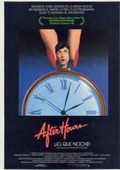 Плакат к фильму После работы (1985)