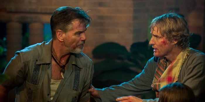 Кадр из фильма Выхода нет (2015)