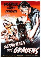Старый постер к фильму Дикий север (1952)
