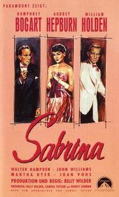 Афиша к фильму Сабрина (1954)
