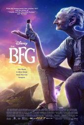 Афиша к сказке Большой и добрый великан(2016)