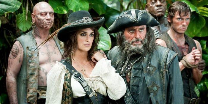 Персонажи из фильма Пираты Карибского моря: На странных берегах (2011)