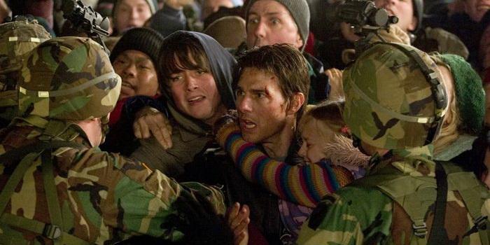Сцена из фильма Война миров (2005)