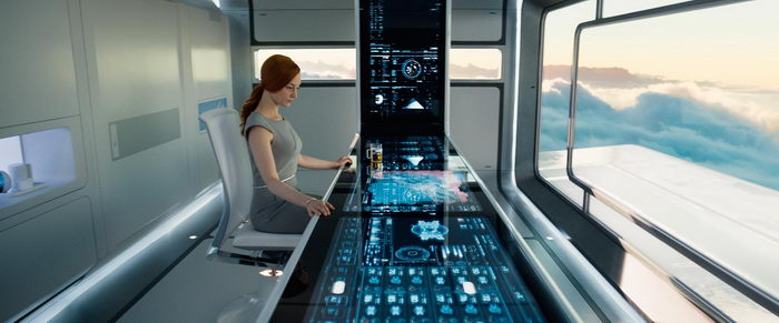 Сцена из фильма Обливион (2013)
