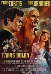 Плакат к фильму Тарас Бульба (1962)