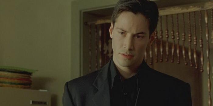Сцена из фильма Матрица (1999)