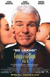 Плакат к комедии Отец невесты 2 (1995)