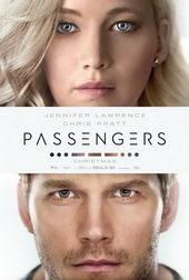 Афиша к фильму Пассажиры (2016)