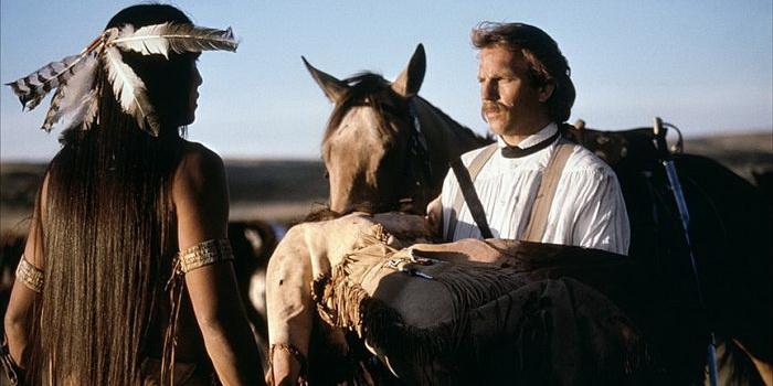 Сцена из фильма Танцующий с волками (1990)