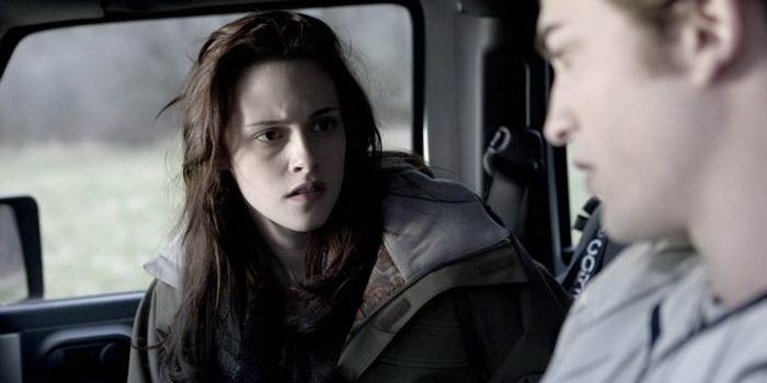Сцена из фильма Сумерки (2008)