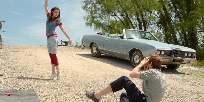 Сцена из фильма Желтый платочек счастья (2008)