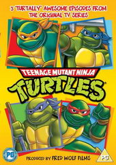 Плакат к мультфильму Черепашки мутанты Ниндзя (1987)