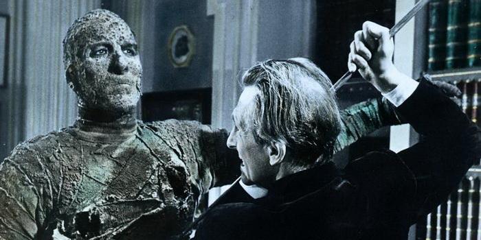 Кадр из фильма Мумия (1959)