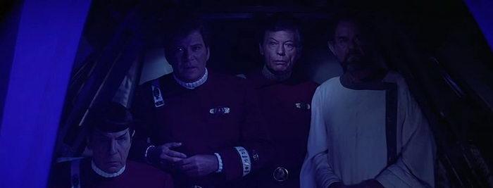 Кадр из фильма Звездный путь 5: Последний рубеж (1989)